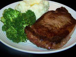 Longhorn Steakhouse Outlaw Ribeye Copycat. The Longhorn Steakhouse Outlaw Ribeye Copycat recipe can be perfectly seasoned then grilled to your specifications ... at your own house. This copycat steak dinner for three is at about the same price you'd pay for a single dinner at the restaurant. Mashed potatoes and steamed broccoli complete this meat and potatoes meal