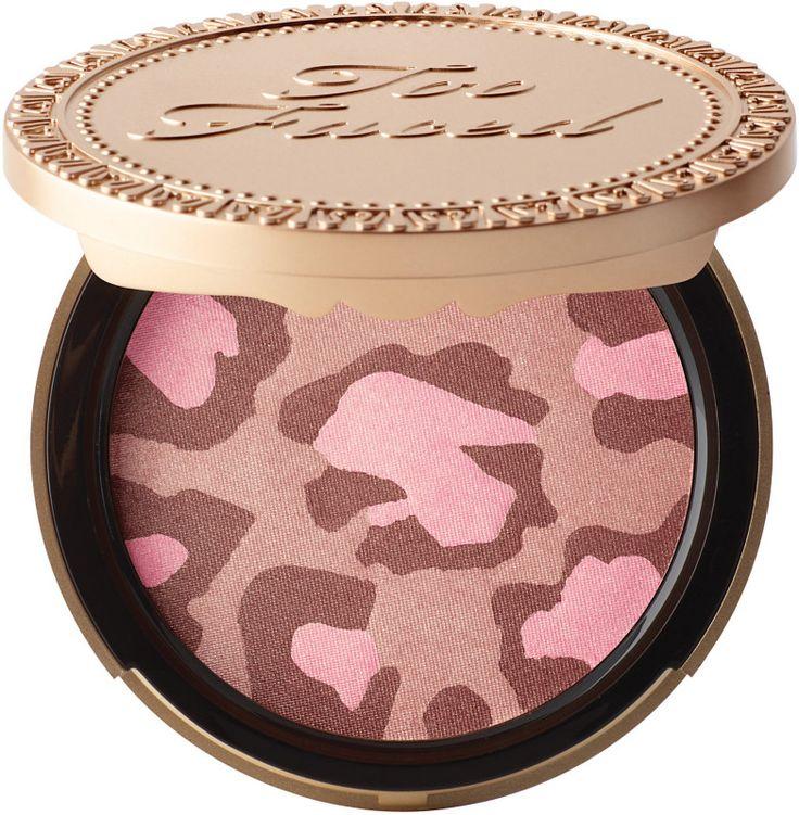 Too Faced Pink Leopard Blushing Bronzer   Ulta Beauty