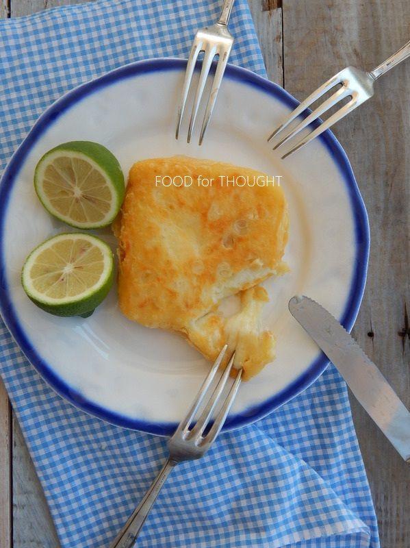 Food for thought: Γραβιέρα σαγανάκι (ή οποιοδήποτε άλλο τυρί)