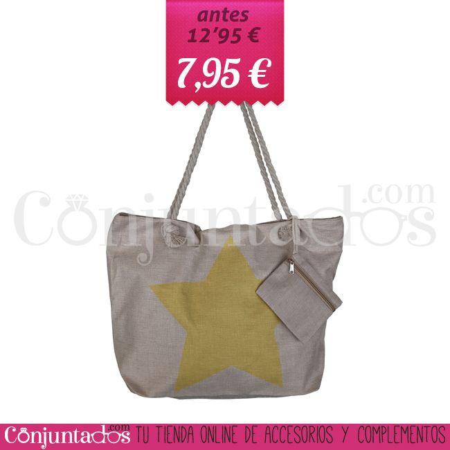 Bolsa de playa de rafia con estrella amarilla ★ 7'95 € en https://www.conjuntados.com/es/bolsos/bolsas-de-playa/bolso-de-playa-de-rafia-con-estrella-amarilla.html ★ #rebajas #discounts #sales #soldes #descuentos #bolsaplaya #bolso #summer #beach #rafia #conjuntados #conjuntada #lowcost #accesorios #complementos #moda #fashion #fashionadicct #fashionblogger #blogger #picoftheday #outfit #estilo #style #streetstyle #GustosParaTodas #ParaTodosLosGustos