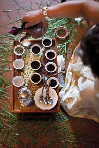 Ethiopian Coffee Ceremony