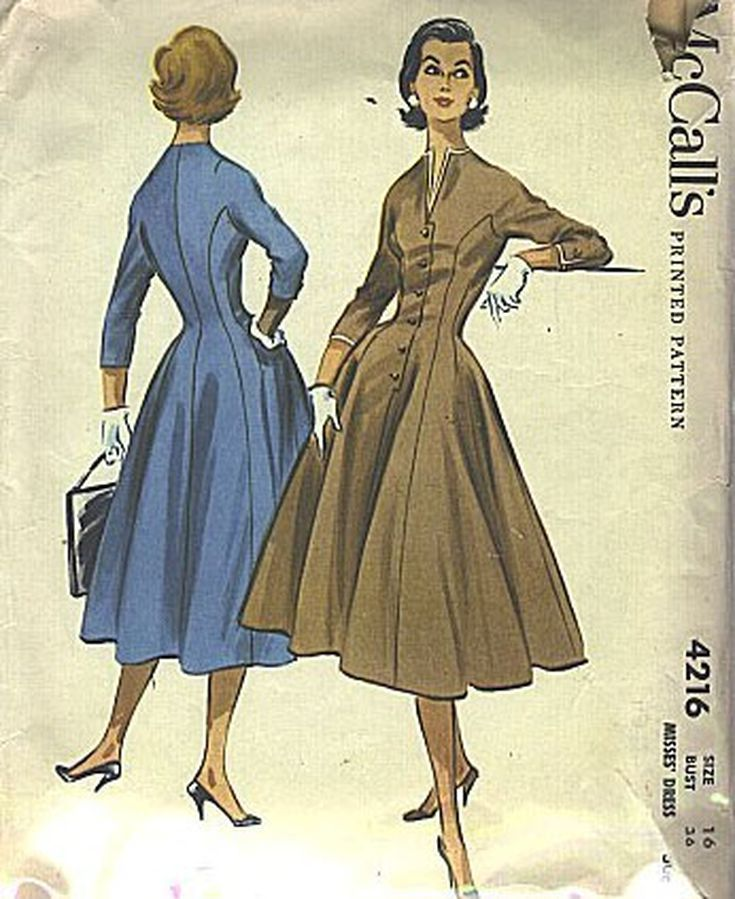 The Best Resources for Vintage Dress Patterns: The Cheapest: Best Vintage  Patterns