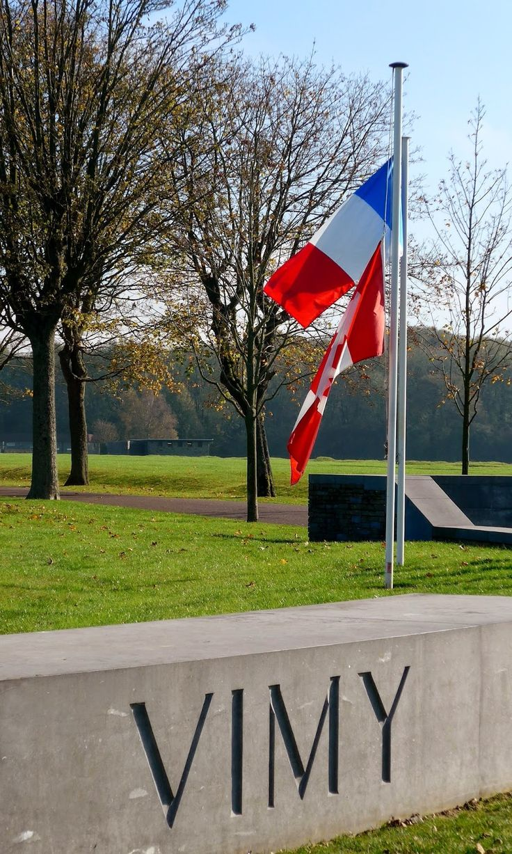 Vimy Ridge, National Historic Site of Canada, Northern France