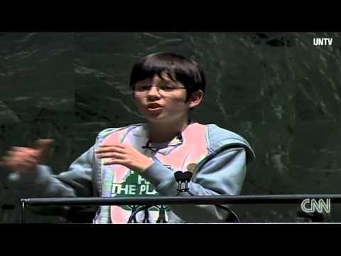 Felix Finkbeiner the 13-year-old tree ambassador on CNN