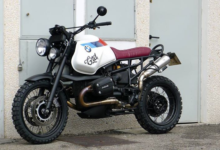 Another fine looking #BMW scrambler custom bike