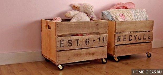 Оригинальная мебель из поддонов (паллет)