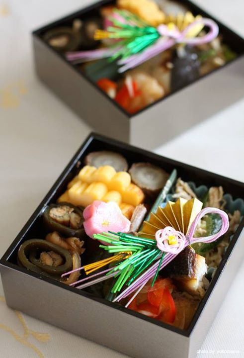 Japanese meal foe New Year's, Osechi おせち料理
