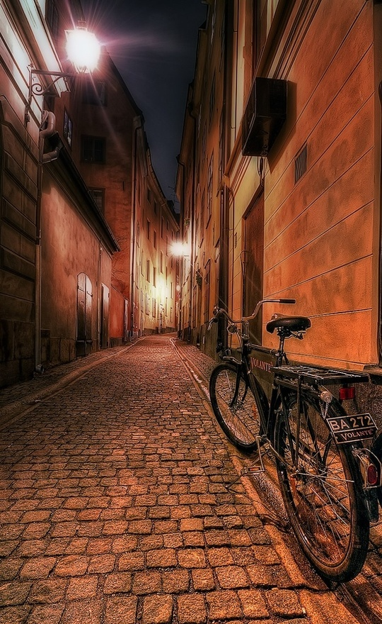Bike in the street in Stockholm.Photos, Inspiration, Art Photography And, Bikes, Pinterest Photographers, Pictures, Photography Art Etc, Random Pin, Dawid Martynowski