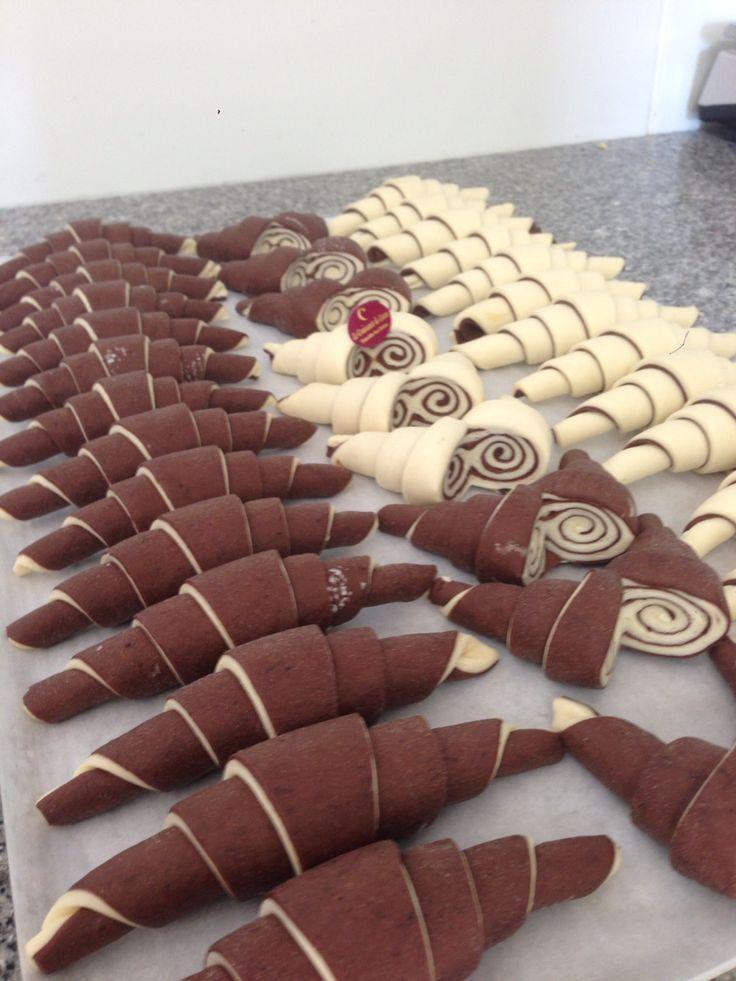 Croissants BiColores Chocolat Cacao