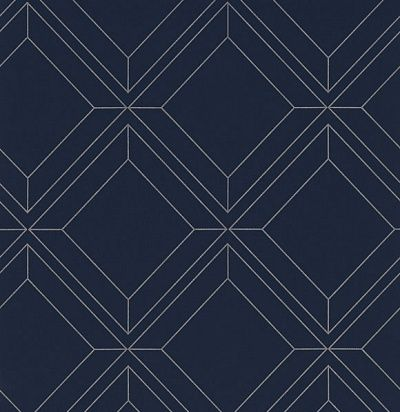 Фото №1: обои синие матовые VEN402 – Ампир Декор