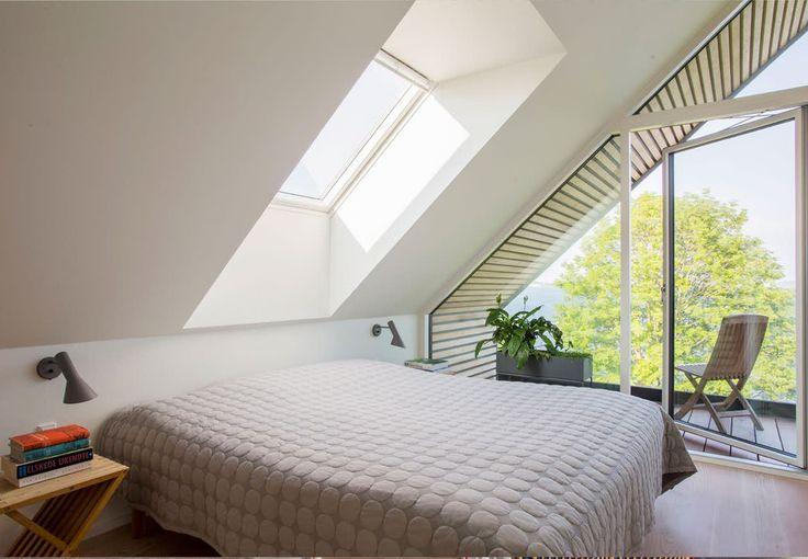 Soveværelse med skøn udsigt
