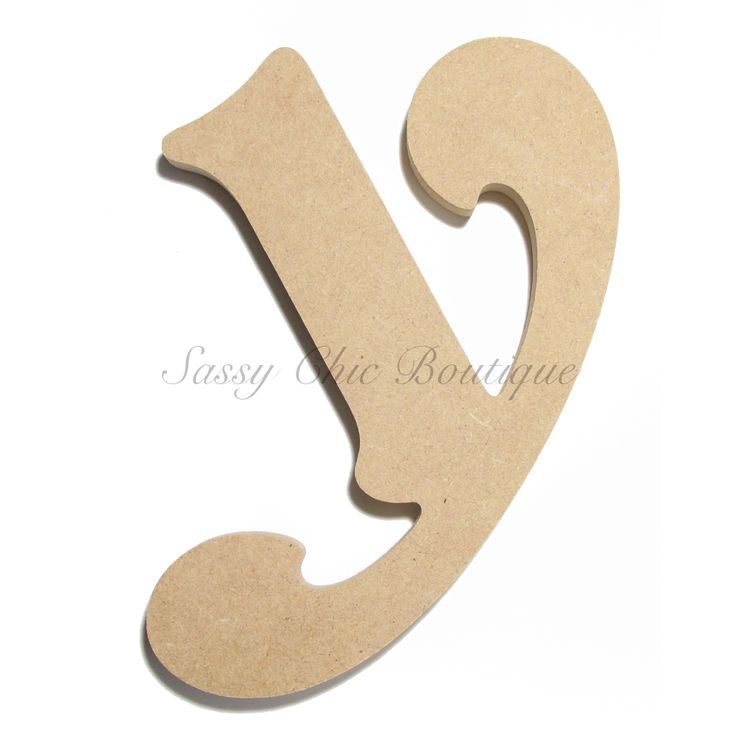 unfinished wood letters unfinished wooden letter lowercase quot y quot font 25367