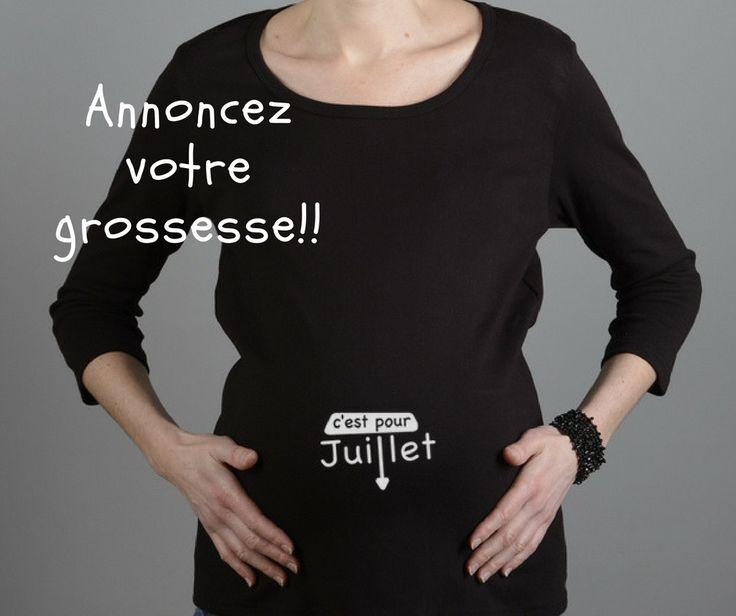 39 best t shirt de grossesse images on pinterest pregnancy woman and black people. Black Bedroom Furniture Sets. Home Design Ideas