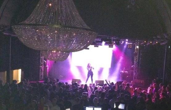 Onstage at Ritz Nightclub in Örebro, Sweden - 1 March 2013. #jennyberggren #aceofbase