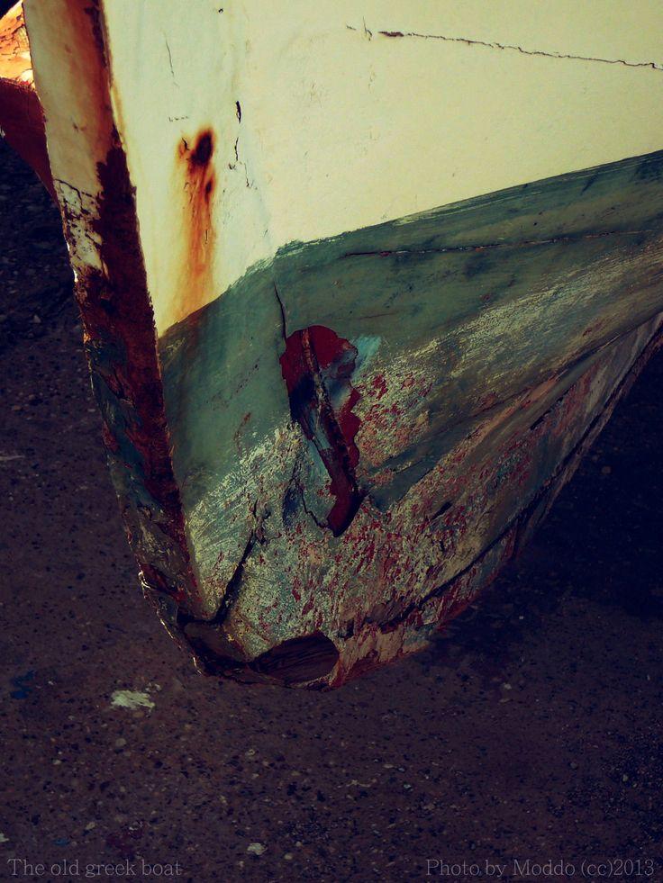 The old greek boat by Vlastimil MoDDO Vanek on 500px