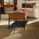 Found it at Wayfair - Modern Craftsman Coffee Table$272.99 distressed oak