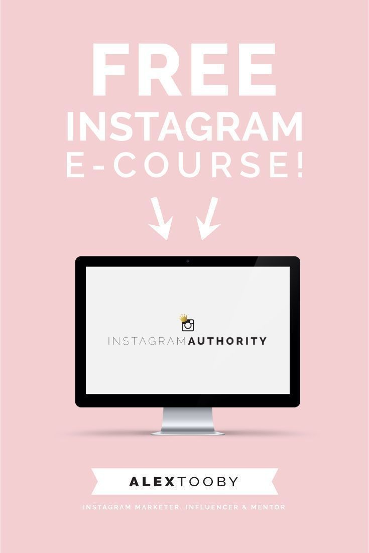 FREE Instagram course by Alex Tooby. This course blew my mind! I love her…
