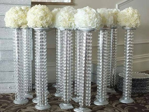 17 Best Ideas About Chandelier Centerpiece On Pinterest Bling Wedding Centerpieces Candelabra
