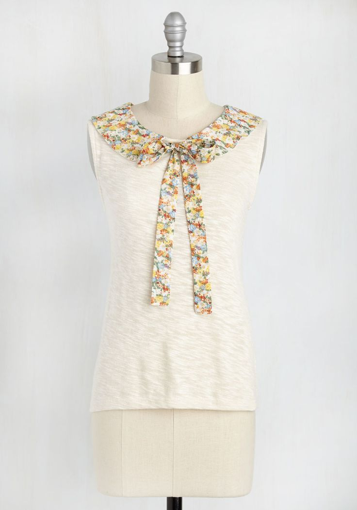 As Good as New England Top. Your secret to feeling totally refreshed? #cream #modcloth