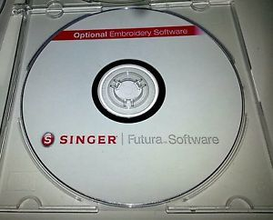 Singer Futura Software AutoPunch, Editing, Hyperfont, Photostitch XL 400,420,550