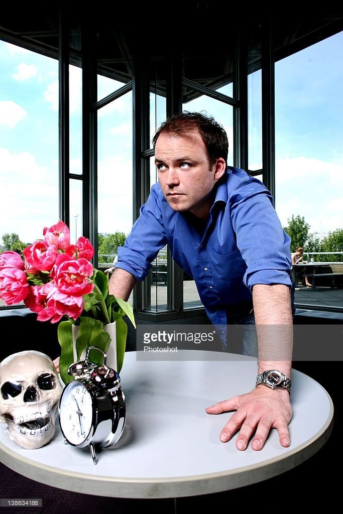 Actor Rory Kinnear photographed at the National Theatre, London, May 2008.