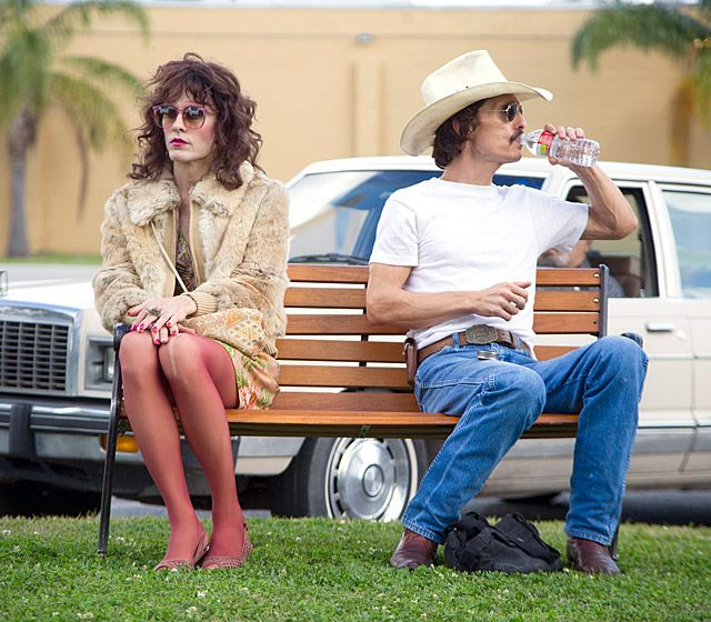 Dallas Buyers Club ,takes you and sticks with you