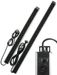 10 outlet vertical mounted PDU