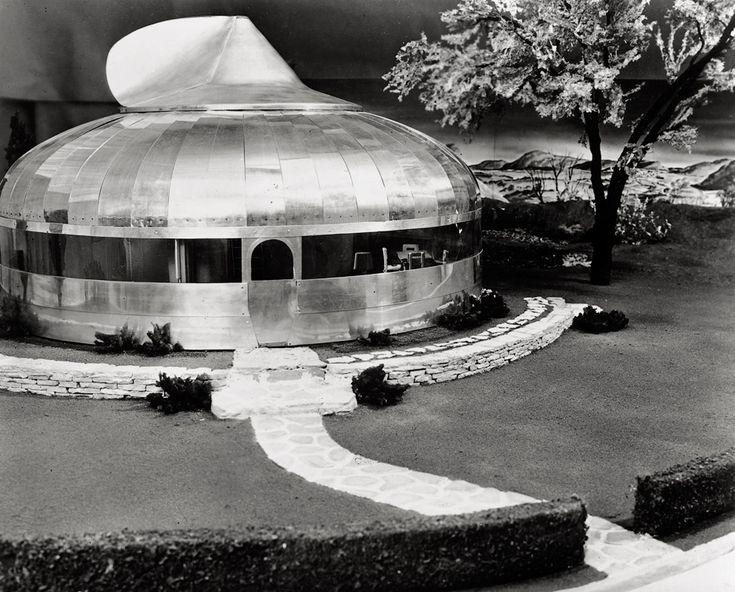 Dymaxion House, Wichita, Kansas  designed by R. Buckminster Fuller, 1946