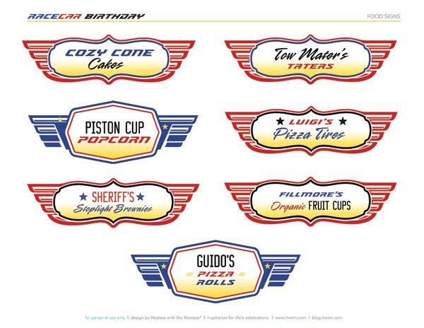 115 best car/truck birthday printables images on pinterest | cars, Birthday invitations