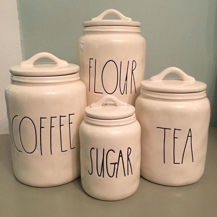 Exotische Rustikale Kuche Kanister Set Kanister Set Kaffee Mehl