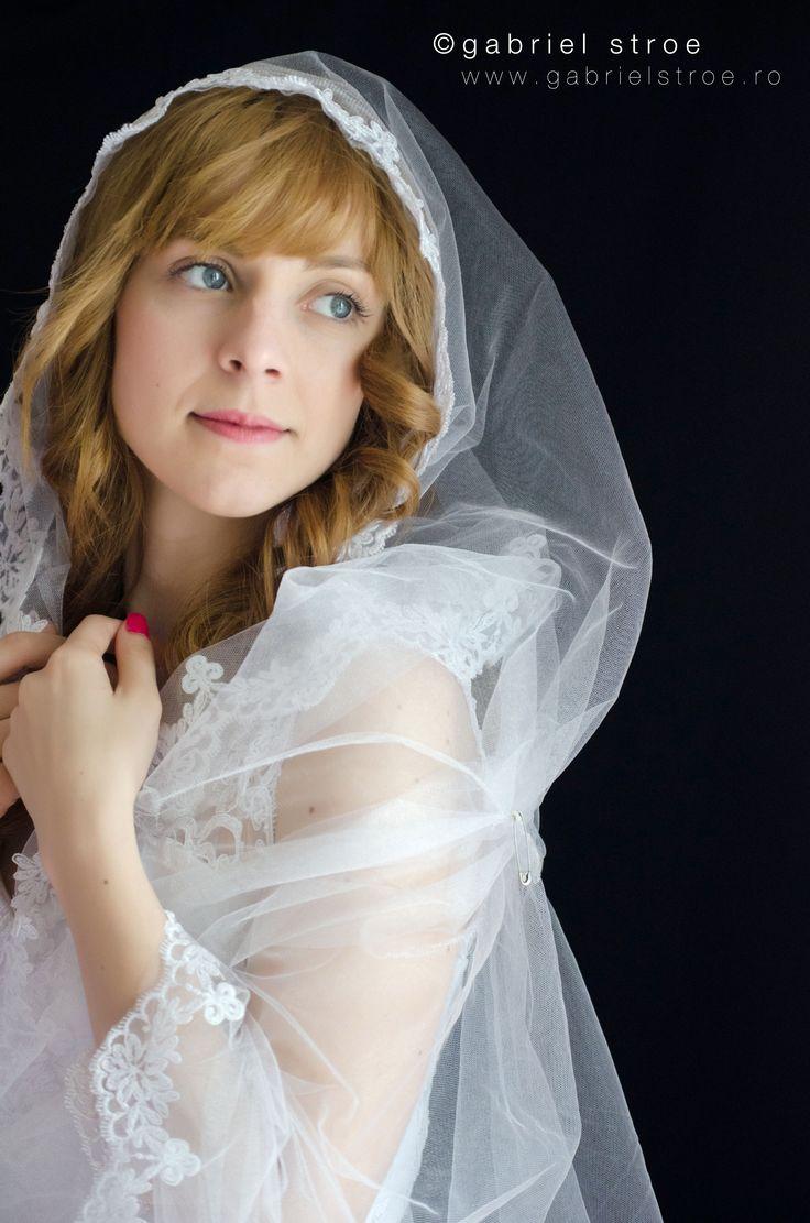Portret de mireasa de la http://gabrielstroe.ro/  #wedding #portrait #bride