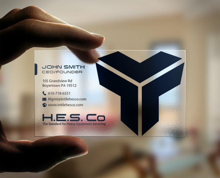 Hesco Business Cards by chandrayaan.creative