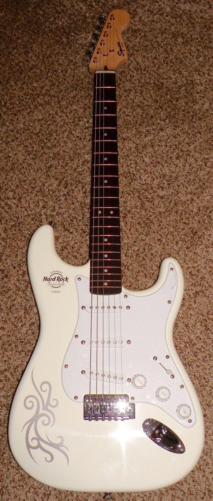 #guitar NEW Fender Squier Bullet Strat Electric Guitar Arctic White Hard Rock Tampa please retweet