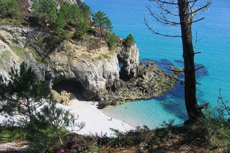 La plage de l'Ile Vierge à Saint-Hernot (Finistère) : Les plus belles plages de France - Linternaute