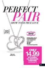 Avon Brochure  Perfect Pair, elegant and gorgeous necklace, heart shaped - this is a steal at $14.99 Click here to view my current brochure: http://www.avon.ca/shop/en/avon-ca-next/brochure-list?BP=V5vFbOSlApk%3d https://interavon.ca/elisabetta.marrachiodo https://facebook.com/avonformakeup