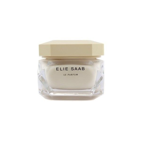 Elie Saab Elie Saab Le Parfum Scented Body Cream ($100) ❤ liked on Polyvore featuring beauty products, bath & body products, body moisturizers, beauty, accessories, filler, elie saab perfume, scents perfume and elie saab
