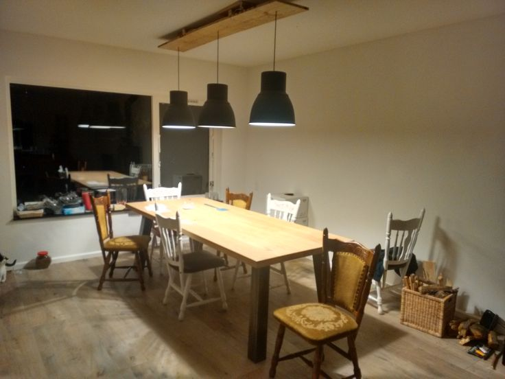 kitchen chandelier ideas island for small kitchens ikea hack; 3 hektar lampen, in hoogte verstelbaar | ...