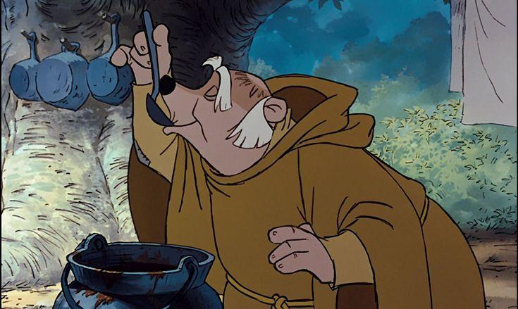 Pat Buttram in Robin Hood (1973)