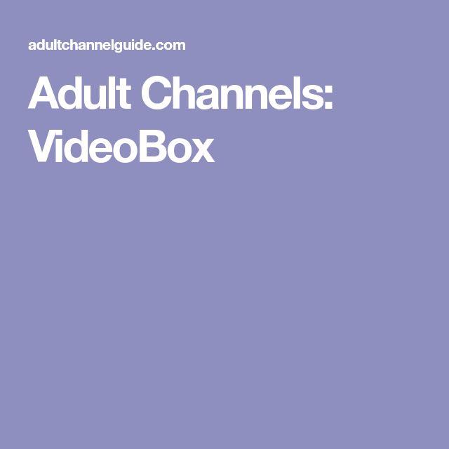 Adult Channels: VideoBox