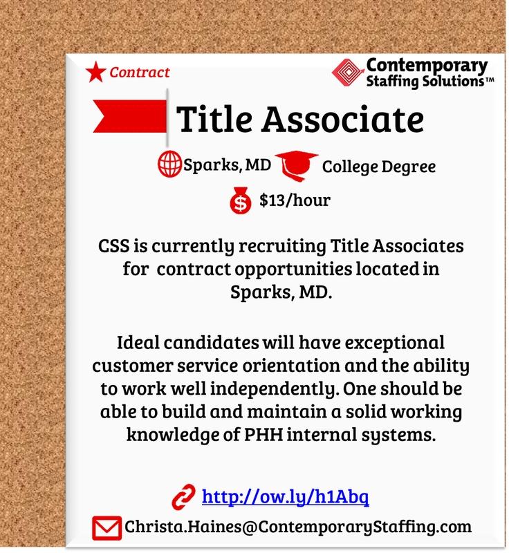163 best CSS Job Openings! images on Pinterest Fun stuff, The - associate recruiter resume