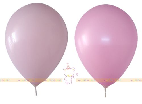 Pink Balloons Solid. This solid balloons will brighten up your party. Can be used on its own or combine with other color balloons. Stick, cups and ribbon are sold separate. Visit us at www.wigglegiggle.com