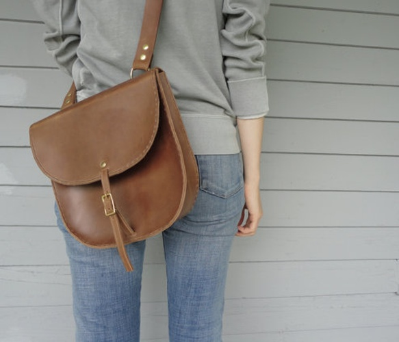Saddle Bag by Fleet Co.
