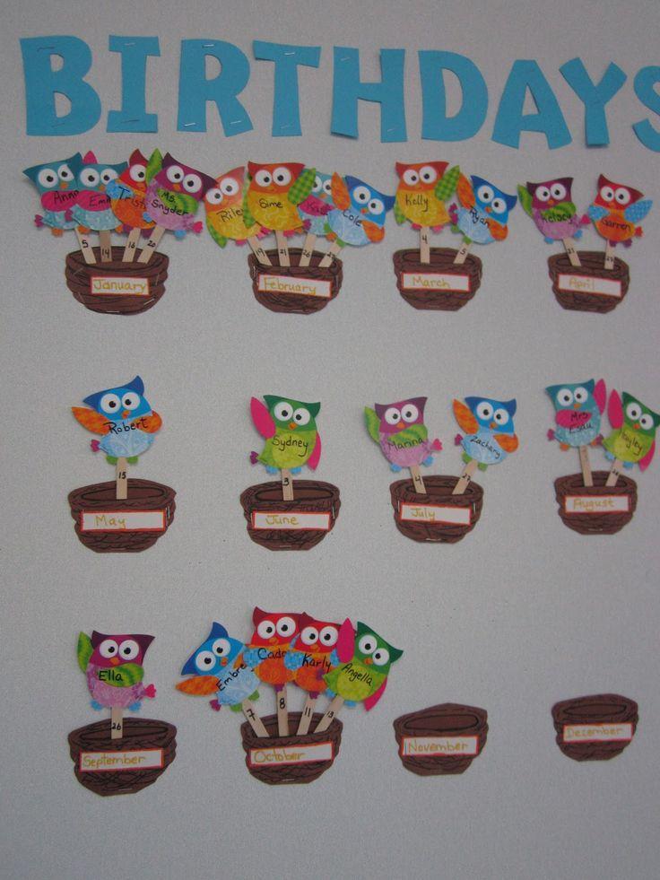 board birthday classroom - Buscar con Google