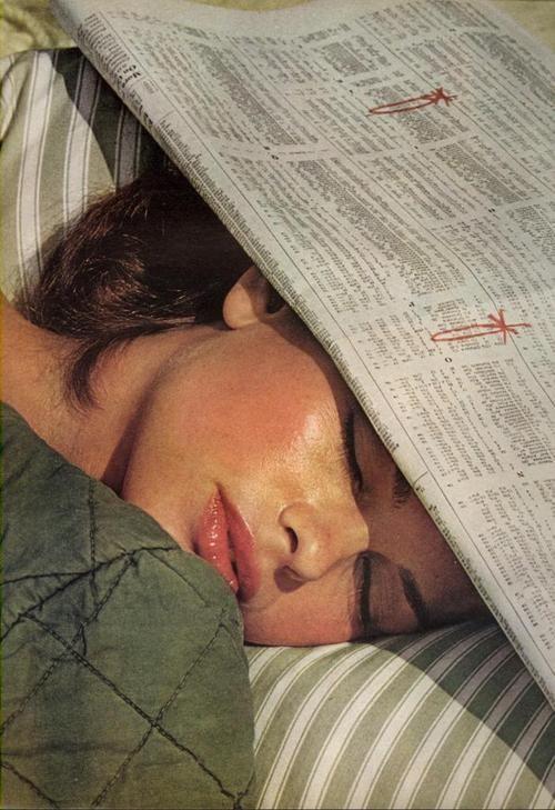 Helmut Newton: Lisa Taylor, Vogue US June 1975
