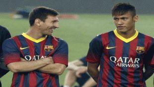 Neymar Ready to Replace Messi