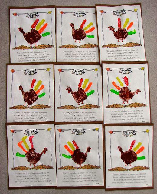 Thanksgiving Turkey (handprint activity freebie)