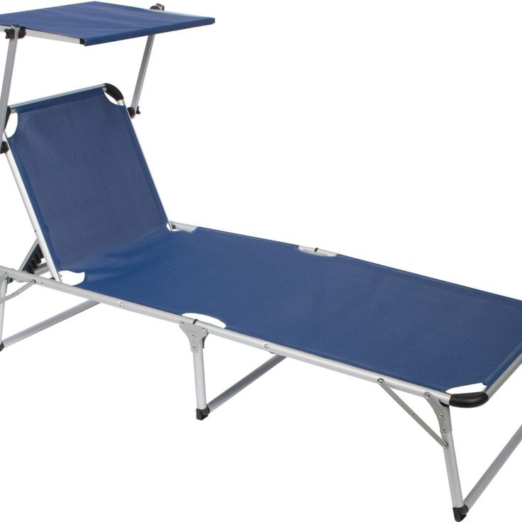 Beach Lounge Chair With Canopy