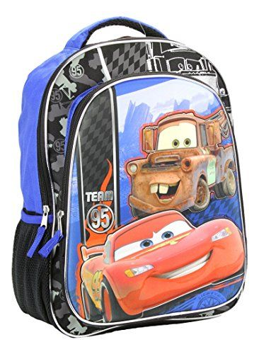 Disney Cars McQueen Tow Mater 16 3D Backpack   BEST VALUE BUY on Amazon 265e97e391849