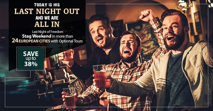 Last Night Of Freedom      Stag Weekend In more than 24 European Cities with Optional Tours       SAVE up to 38%        WhatsApp: 0786 002 6636      ☎ Contact us: 0203 355 4791       Visit us: https://www.tourcenter.uk/       #tourcenteruk #travel #tours #holiday #tourpackages #holidaypackages #weekendholidays #weekendcitybreaks #europeholidays #europetour #tour2016 #europetourpackage