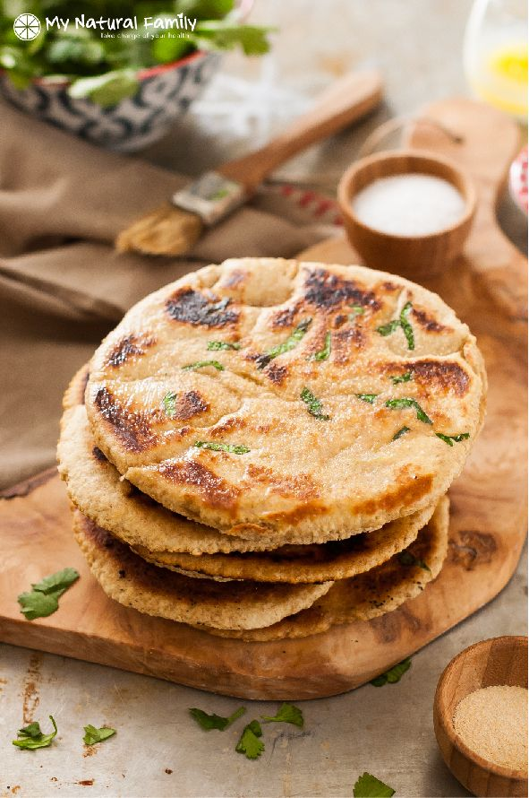 I love this clean eating quick naan bread recipe so much. It is a family favorite for sure. We have been trying to eat out less often and one of our favorite places to eat is our local Indian food restaurant. It is a new discovery for us. I didn't think the children would beContinue